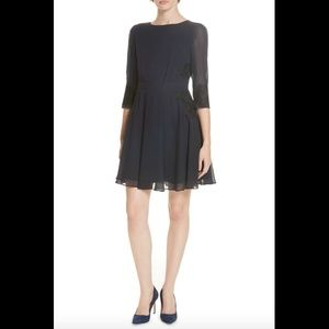 NEW $279 Ted Baker London Gaenor Embroidered dress